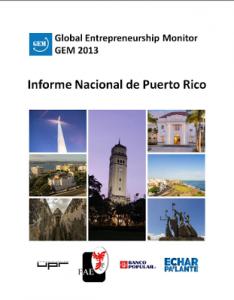 Portada GEM Puerto Rico 2013